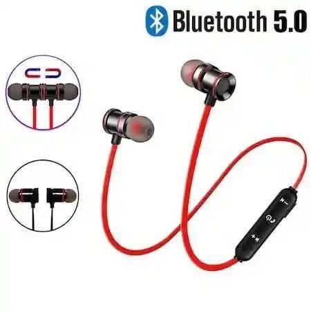 Audífonos SGS888 color rojo