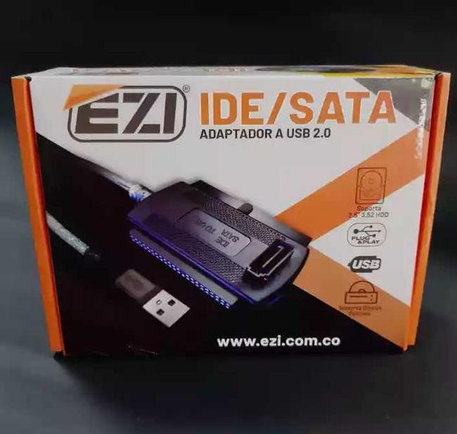Adaptador IDE / SATA a USB 2.0