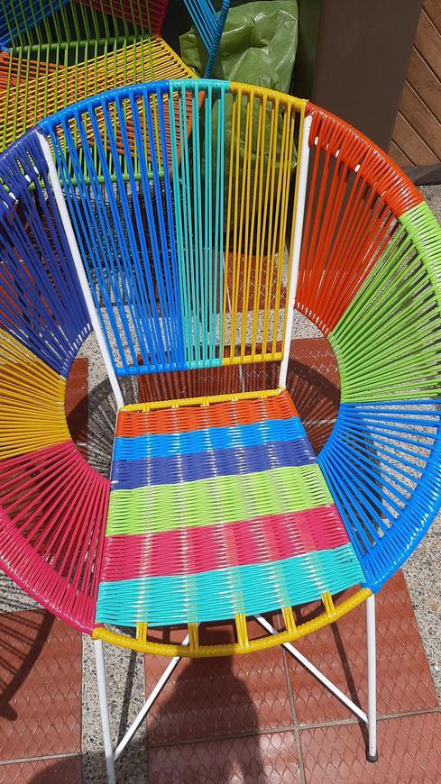 Silla acapulco multicolor