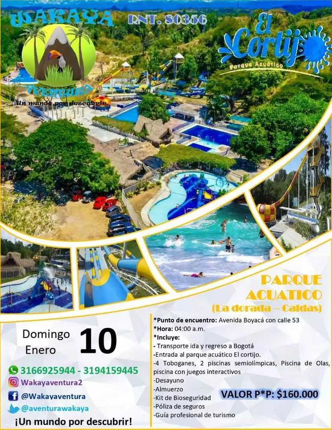 Parque acuático en La Dorada - Caldas