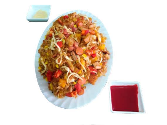 Caja de arroz arriero