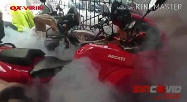 Desinfecciones de vehículos