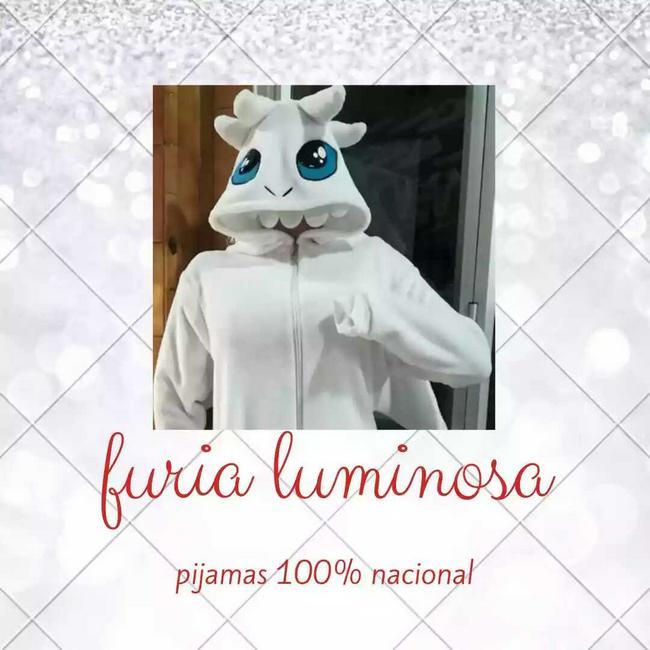 Pijama furia luminosa para niñas