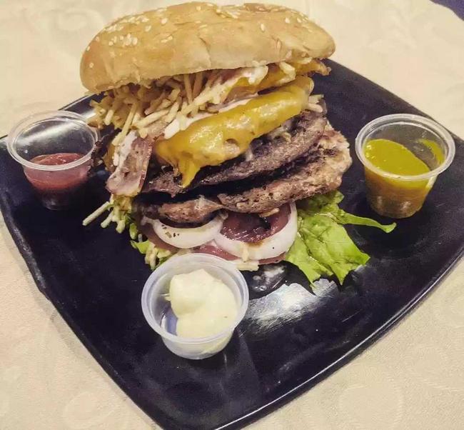Hamburguesa chofy's