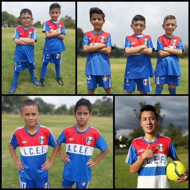 Entrenamiento fútbol nivel básico para niños