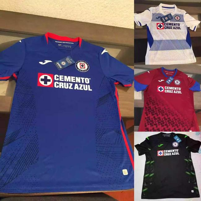 Jersey Cruz Azul temporada 2020