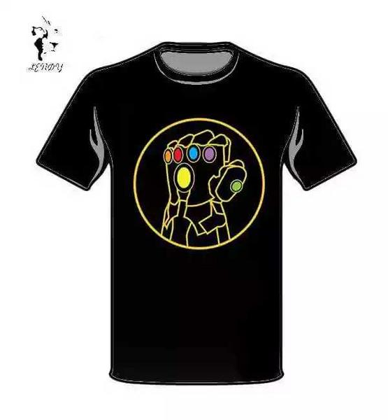 Playeras con diseño Thanos