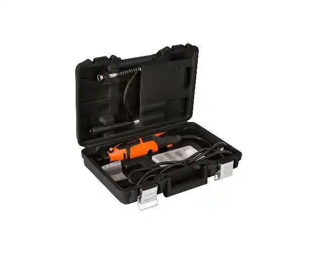 Mototool profesional con 44 accesorios y guaya flexible truper 150W