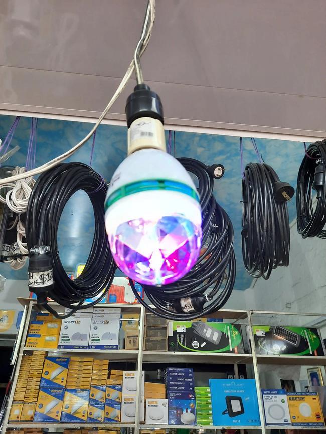 Bombillo led discoteca RGB