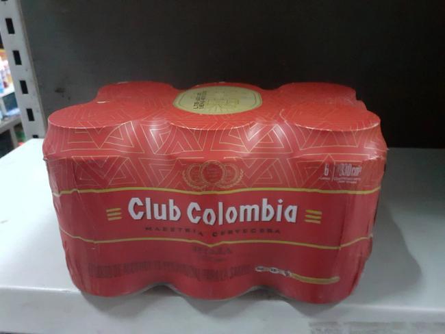 Six pack de Club Colombia roja 330 cm3