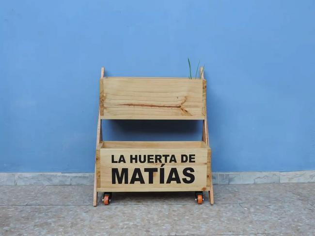 Huerta casera movible y personalizable