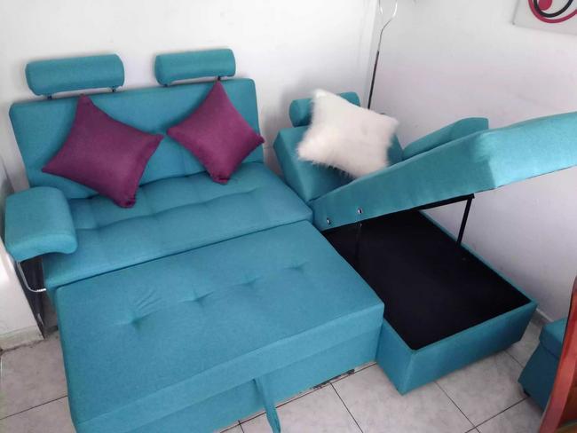 Sala diseño carrito con baúl