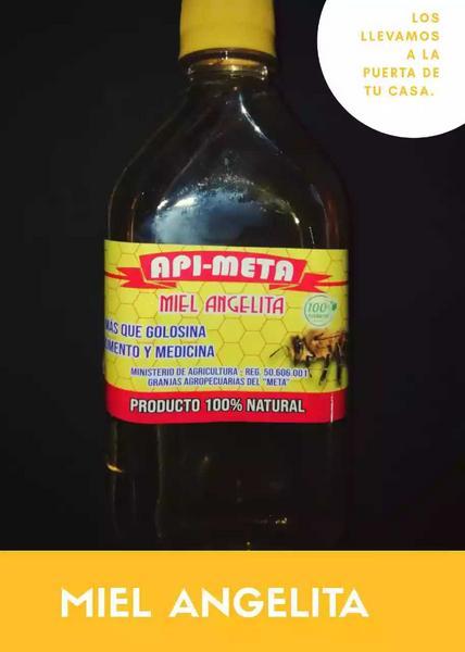 Miel 100% natural marca Api-meta