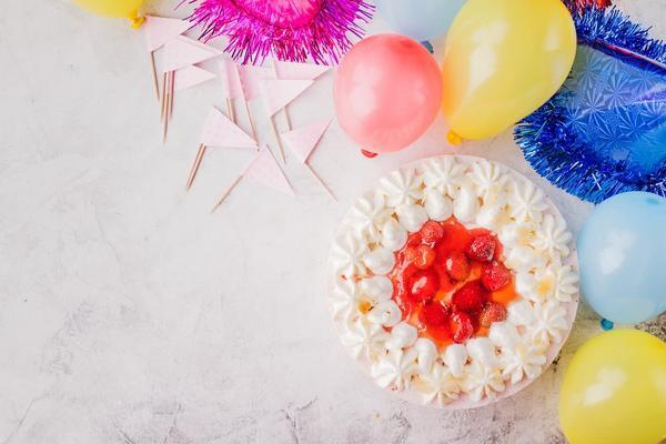 Decoración de fiesta + snacks