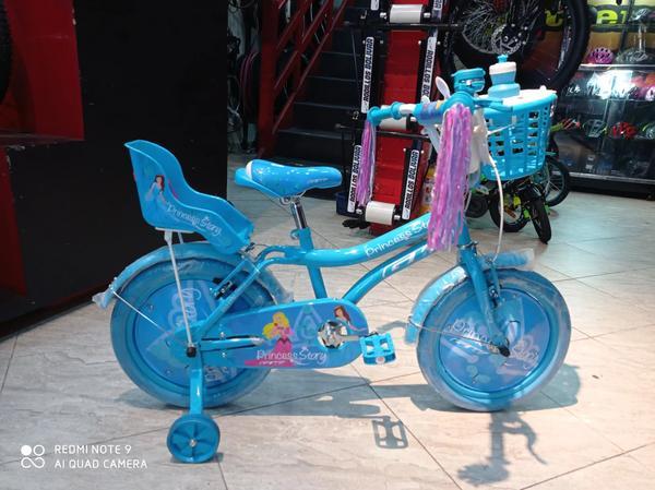 Hermosa bicicleta GW