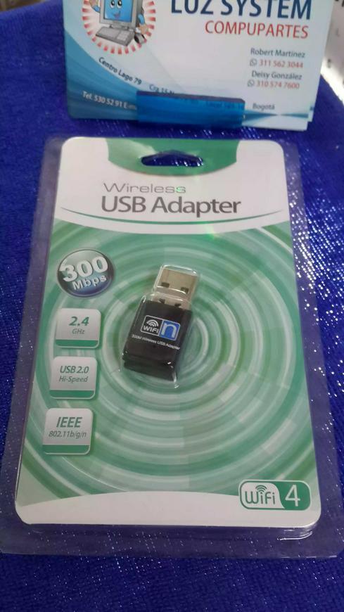 USB wifi úsala y aumenta la velocidad de transferencia