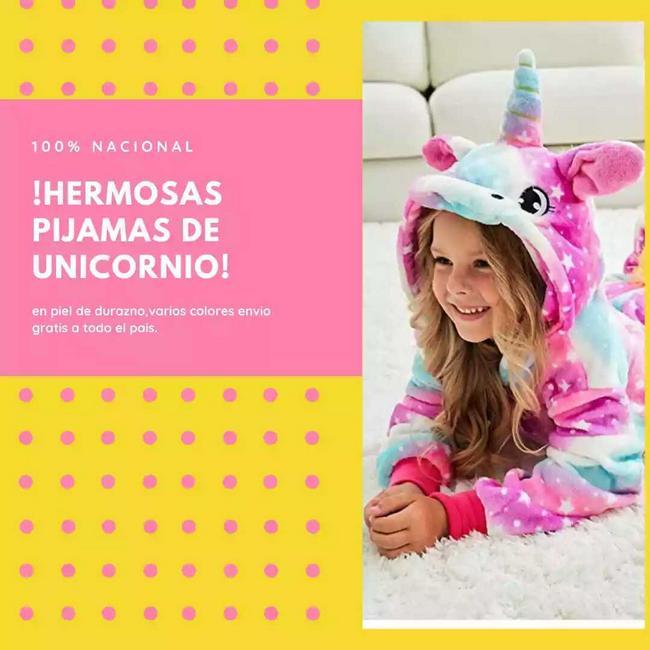 Pijama de unicornio para niñas
