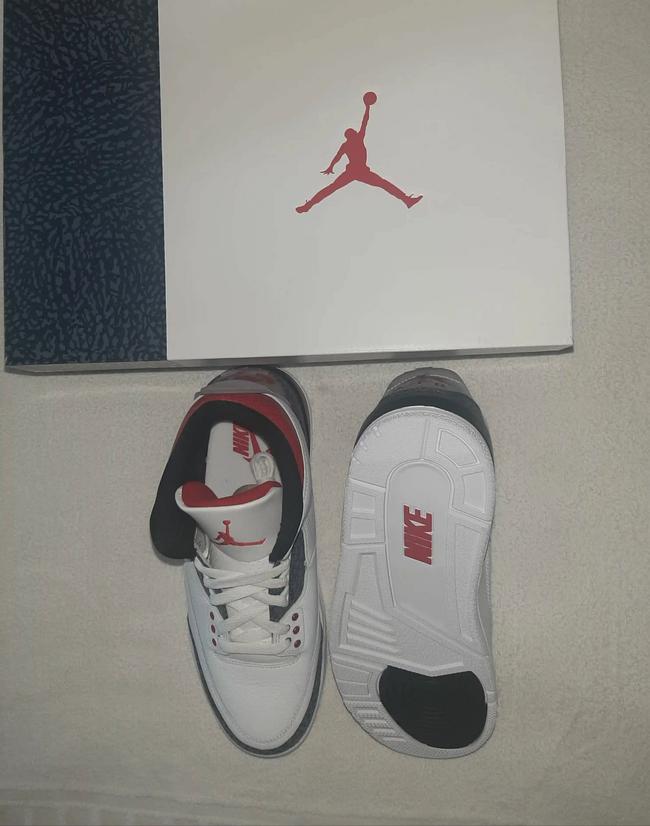 Tenis Air Jordan 3 retro