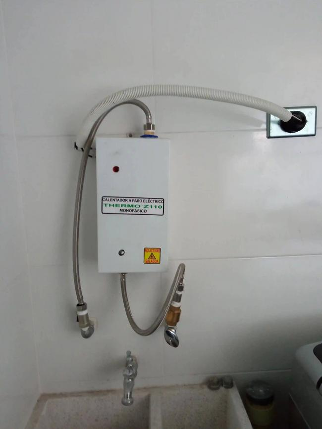 Calentador monofásico 110 voltios