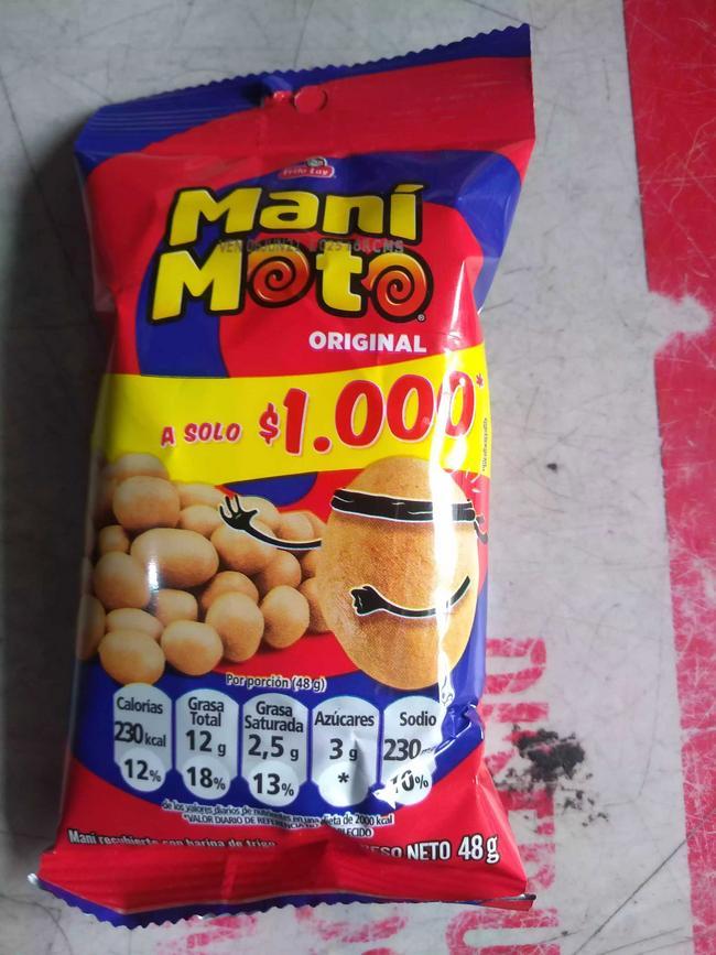 Paquete de manimoto