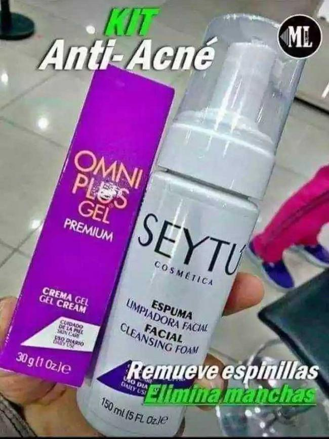 Kit anti- acné Seytú