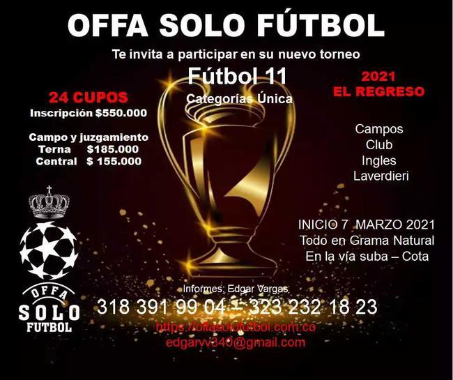 Torneo de fútbol 11