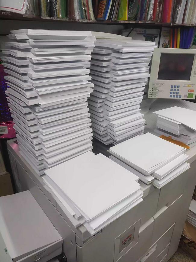 Servicio de copias de un mismo original por 100 unidades