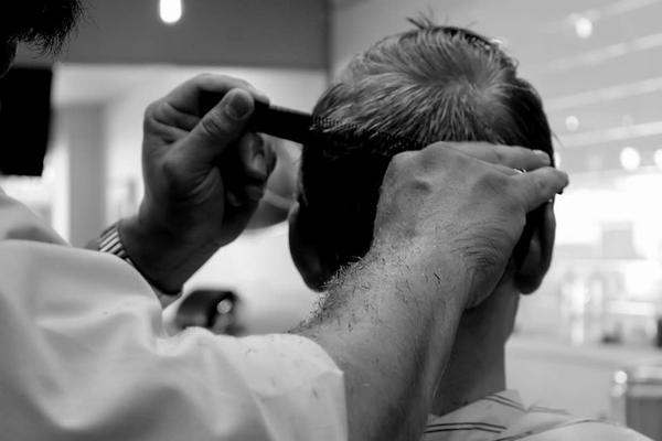 Diseño y corte de cabello para caballero $230 MXN