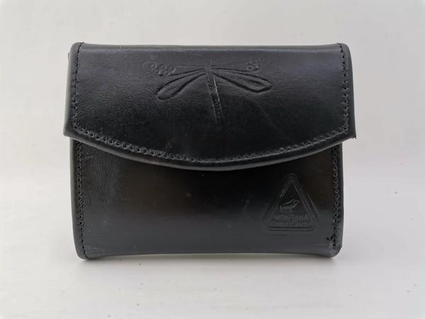 Billetera corta negra