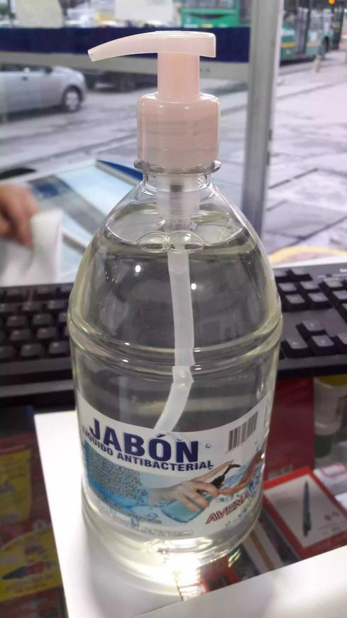 Jabón antibacterial de avena