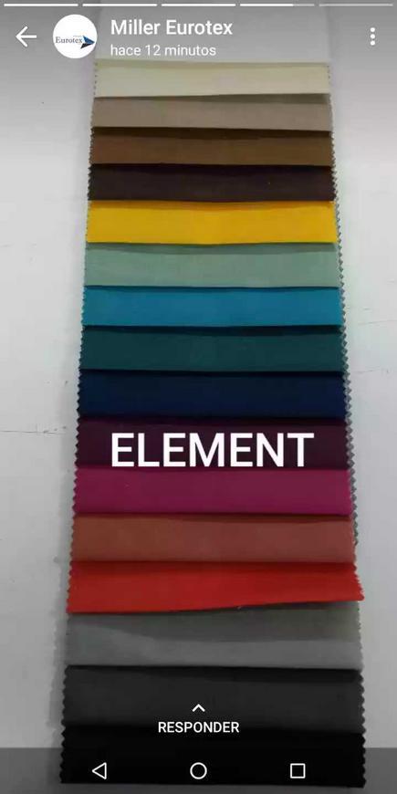 Tela element