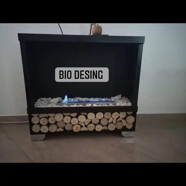 Chimenea ecológica bioetanol