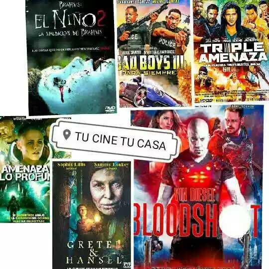 Películas de estrenos en DVD