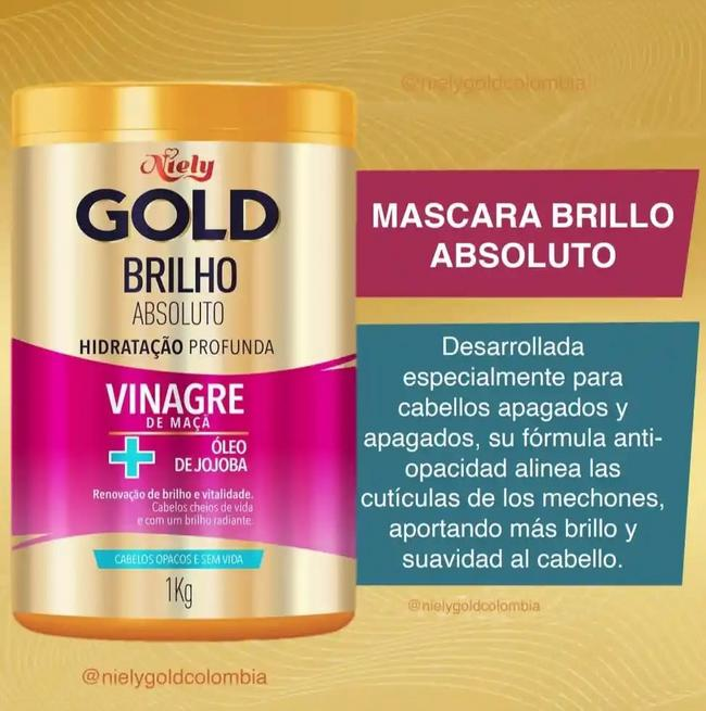 Niely Gold brillo absoluto