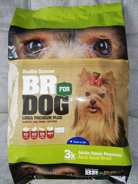 Br for dog adulto raza pequeña x 3 kilos