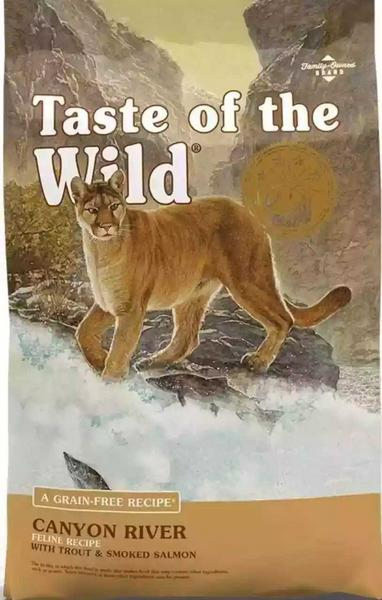 Taste of the Wild Canyon  para gatos de 14 libras