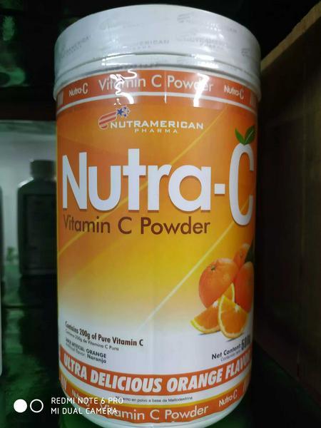 Vitamina C 2.000 mg x 600 gr nutramerican