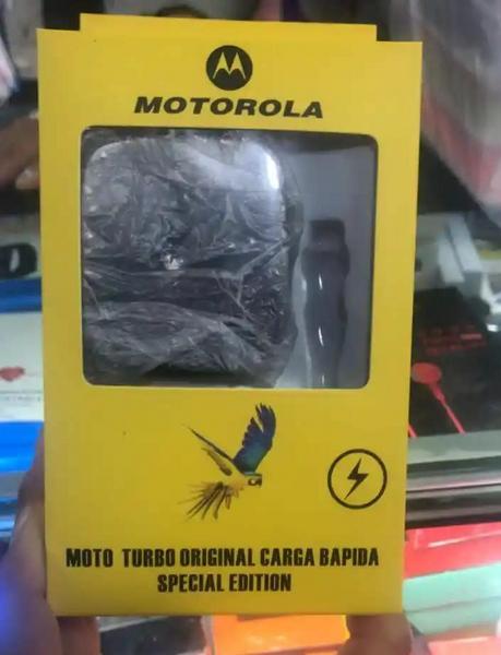 Cargador Motorola turbo