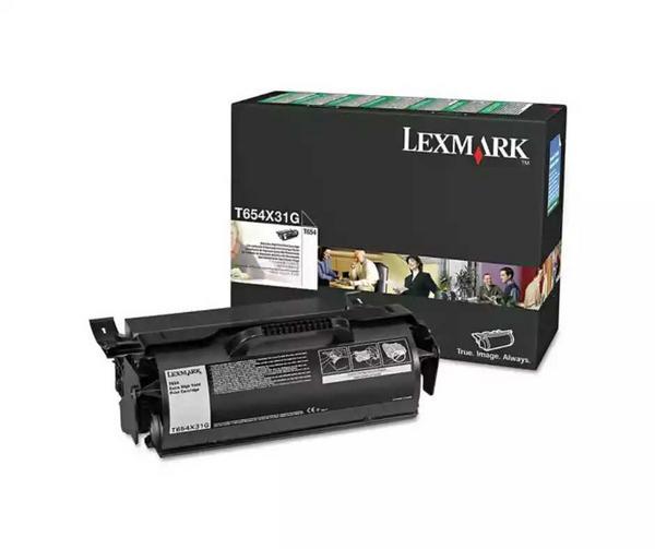 Tóner Lexmark T654x31g