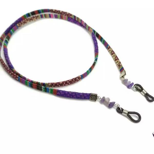 Cordón étnico para gafas