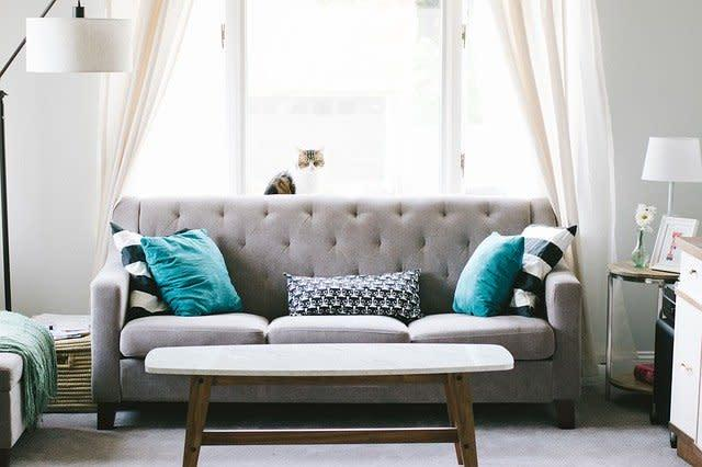 Sofá con base cama