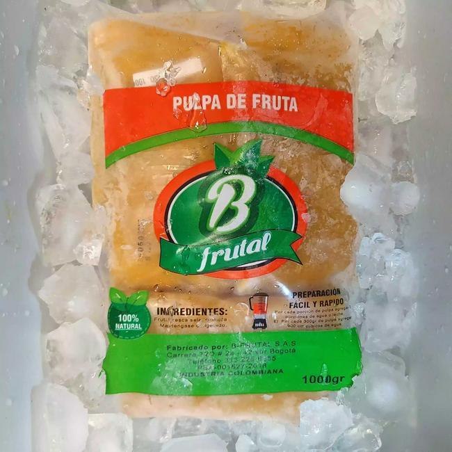Kilo de pulpa de frutal congelada natural