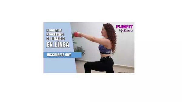 Mantente activo, ejercicio en línea a sólo $400 MXN
