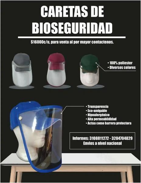 Gorras de bioseguridad