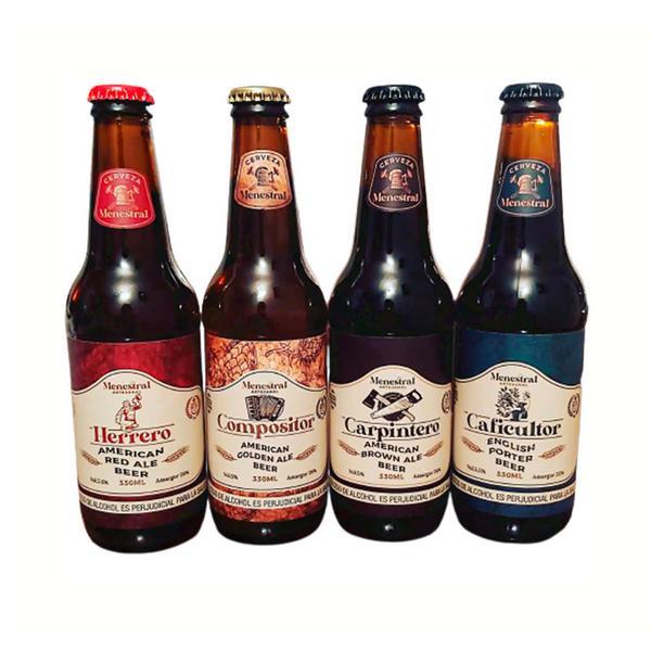 Six pack de cerveza Menestral