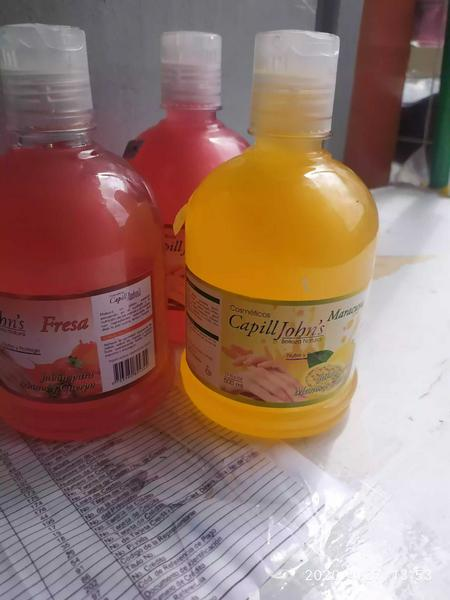 Jabon líquido antibacterial 500 ml.