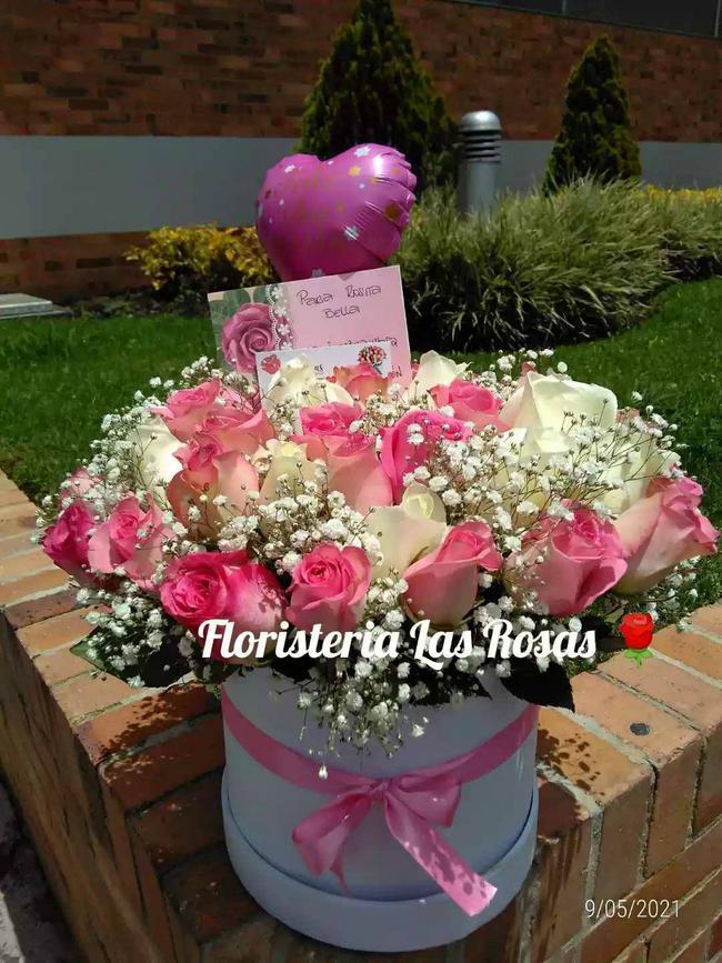 Caja Mix de 36 Rosas