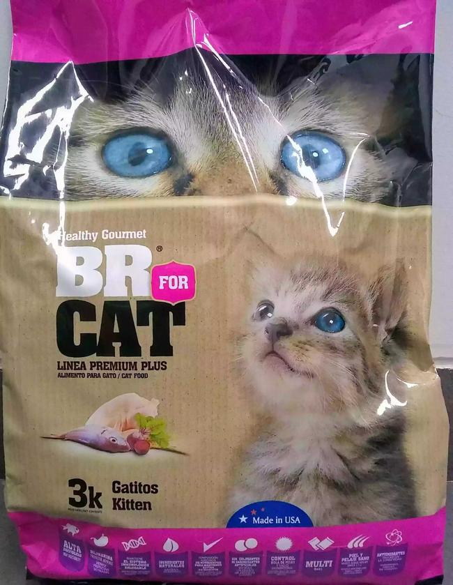 BR CAT Adulto Castrado 3 kg.