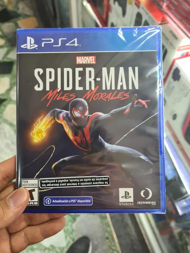 Juego PS4 Spiderman Miles Morales