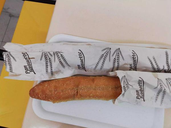 Pan de ajo tipo baguette